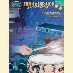 Игра на ударных в стилях фанк и хип-хоп