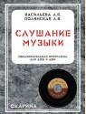 Слушание музыки. Комплект: программа, методика, учебник, 4 рабочие тетради, фонохрестоматия (9 CD)