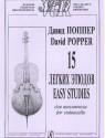 15 легких этюдов для виолончели