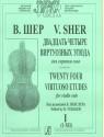 24 виртуозных этюда для скрипки соло. Том 1